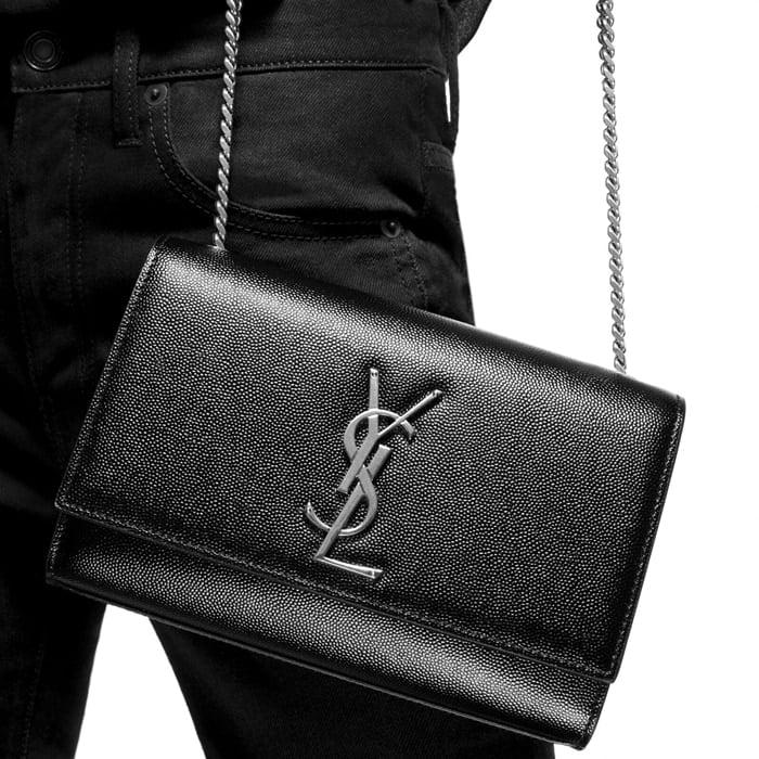 Saint Laurent small leather shoulder bag