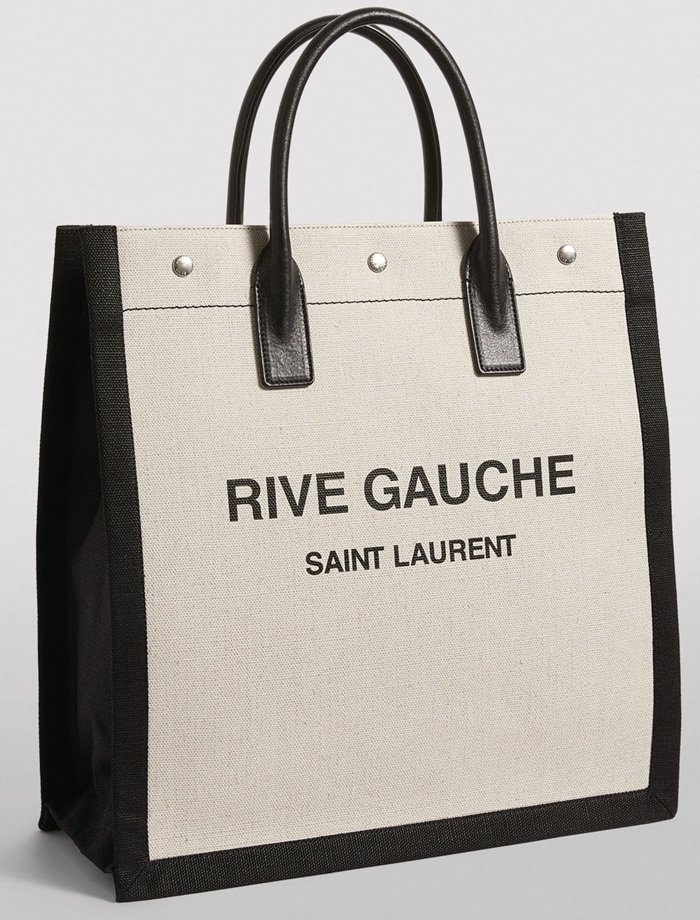 Inspired by the silhouette of the humble shopping bag, this refined tote by Saint Laurent has come a long way from its original influence