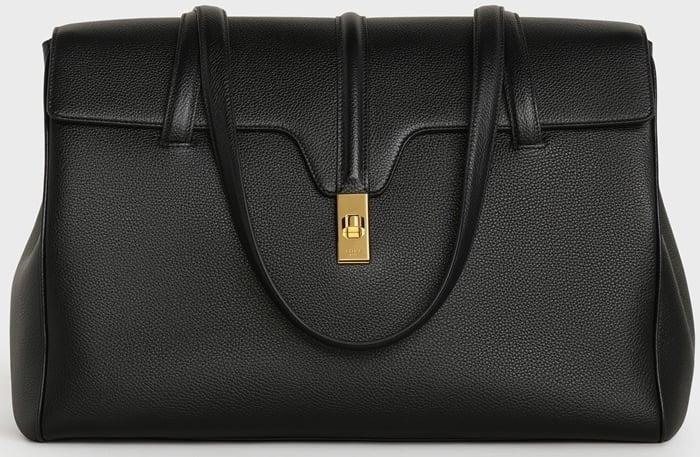 Celine large soft 16 handbag in supple grained calfskin