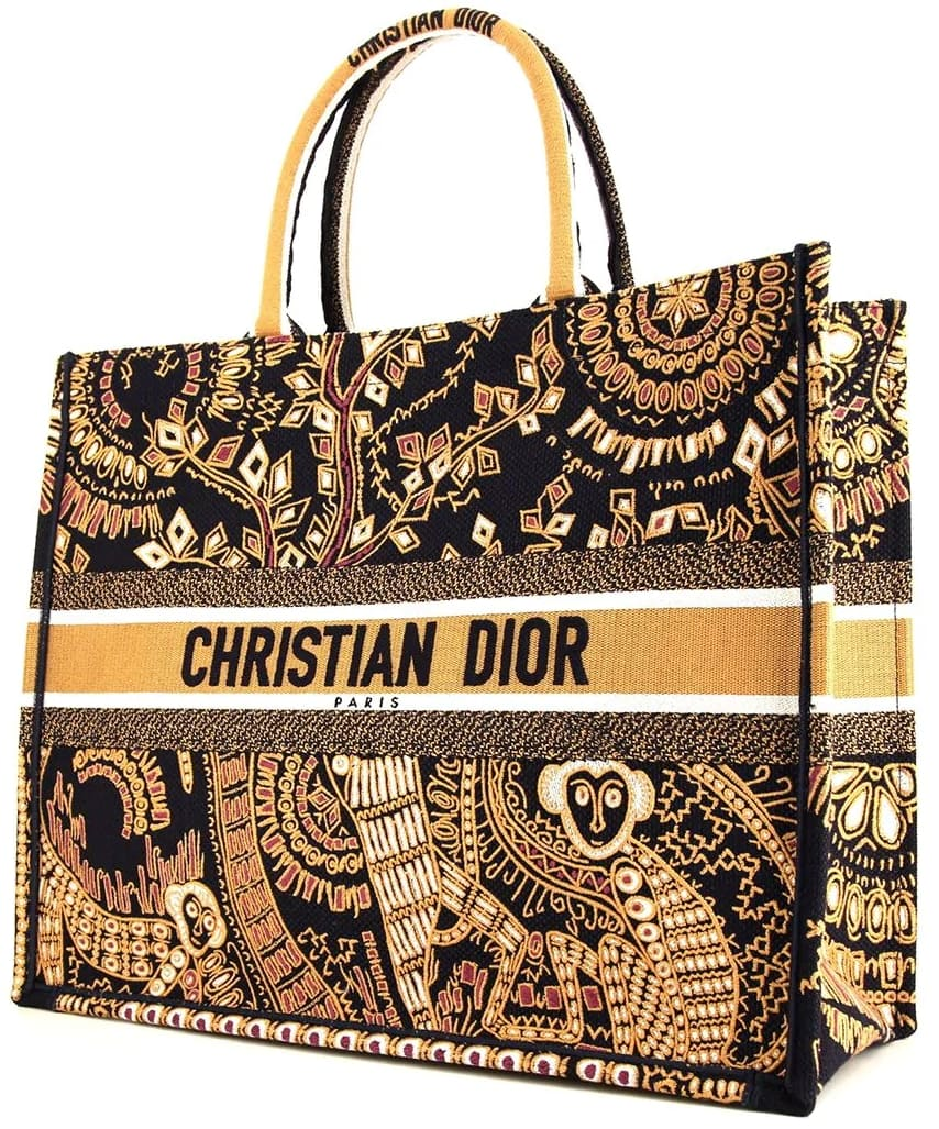When it comes to this Christian Dior Book tote bag, your essentials will not be left behind