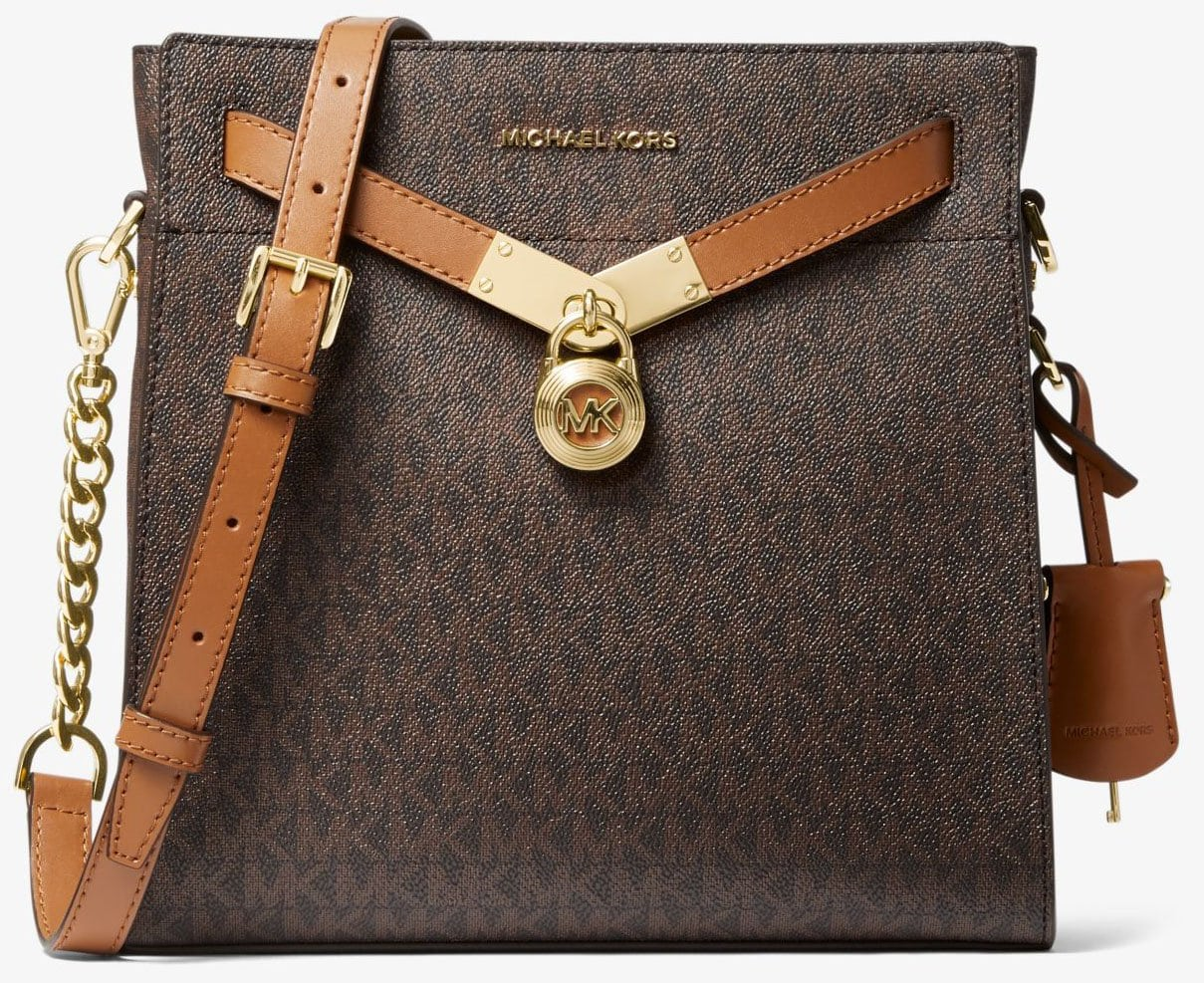 Michael Kors' Nouveau Hamilton messenger bag is considered as one of the label's classic bag designs