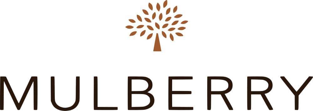 Roger Saul's sister helped him design the Mulberry tree logo, inspired by Mulberry trees