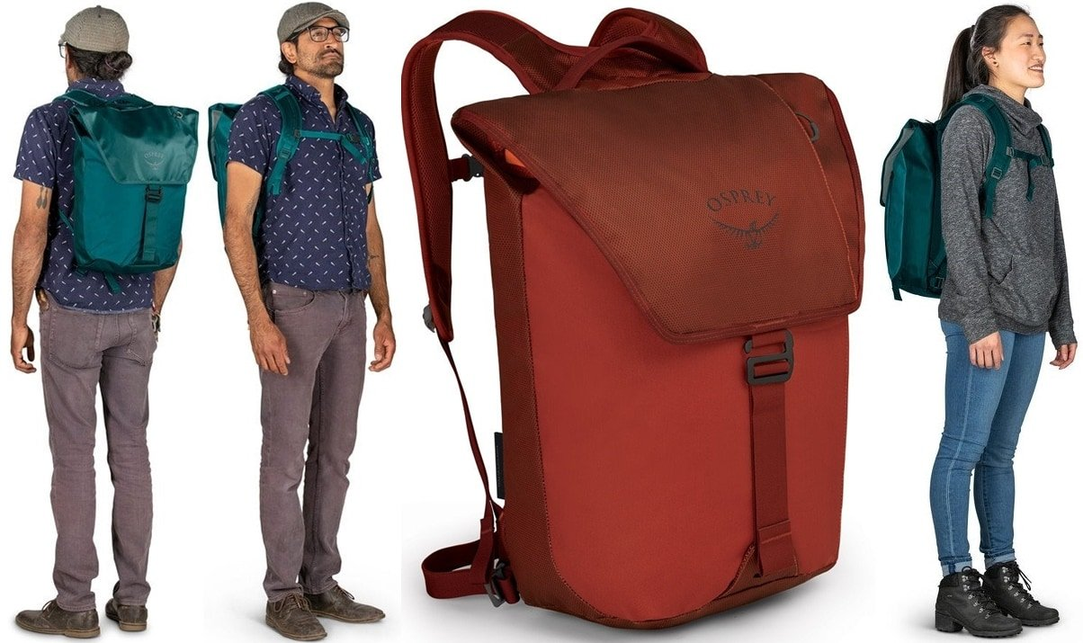 The Osprey Transporter Flap pack makes for a painless and even pleasant commute