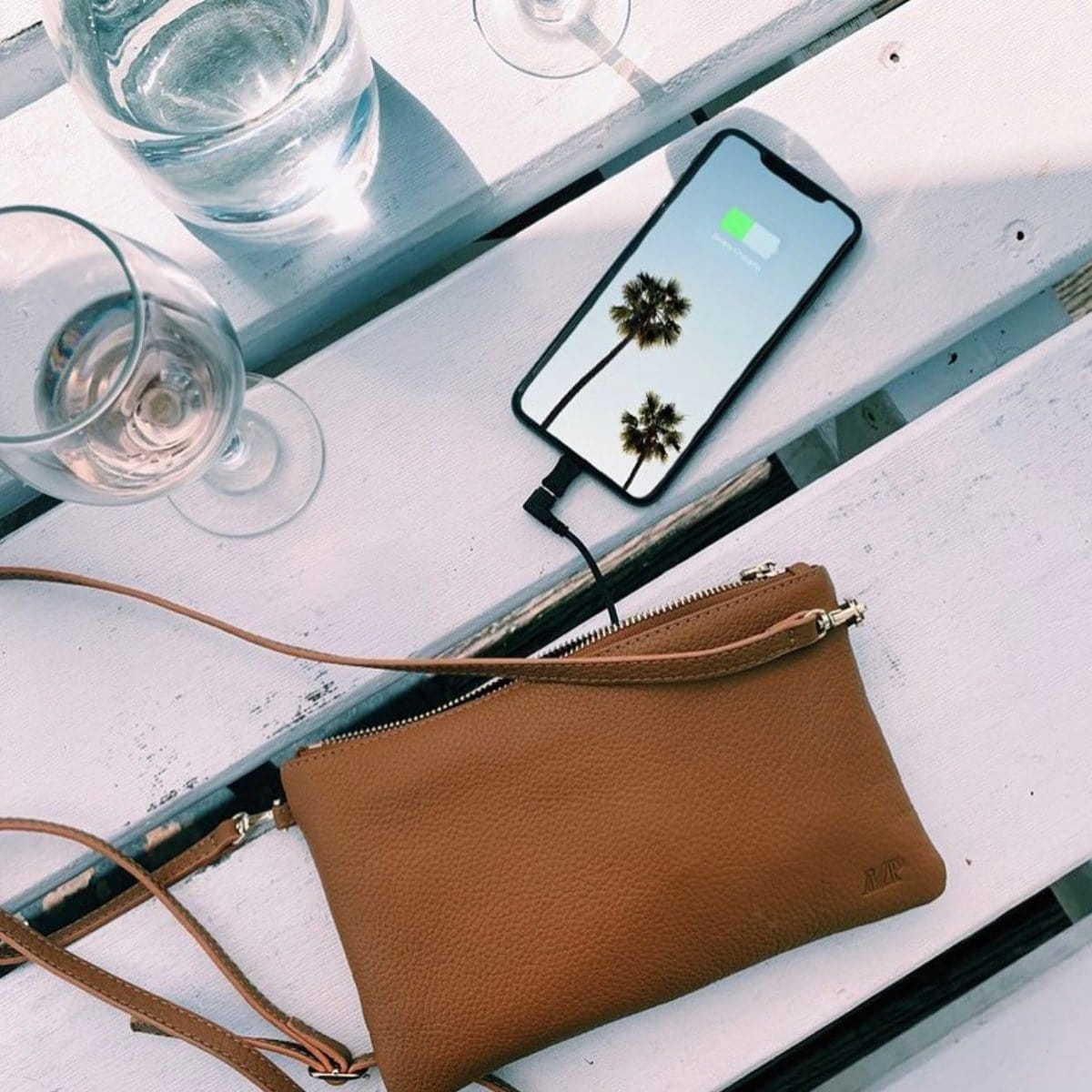 Mighty Purse offers a variety of bags and purses that can charge your phone