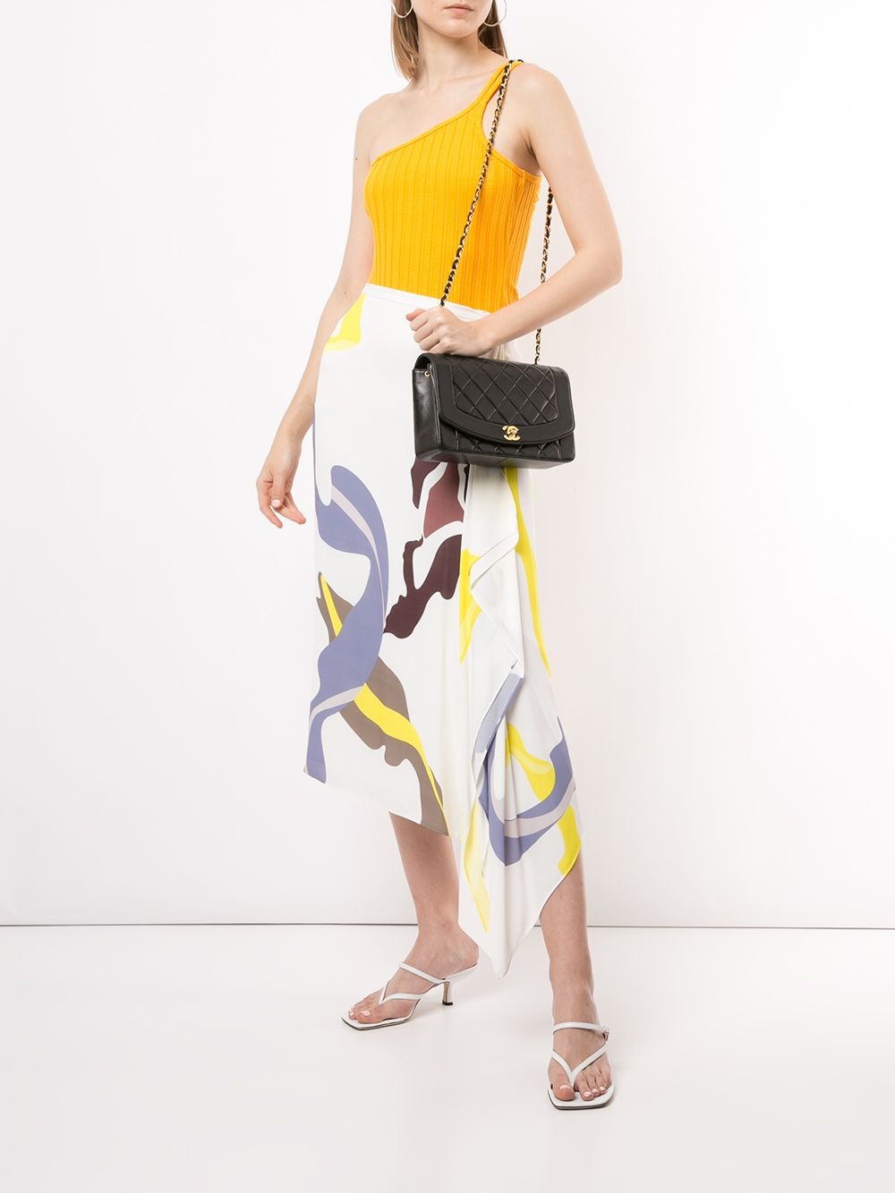 The Diana is a structured shoulder bag named after the former Princess of Wales