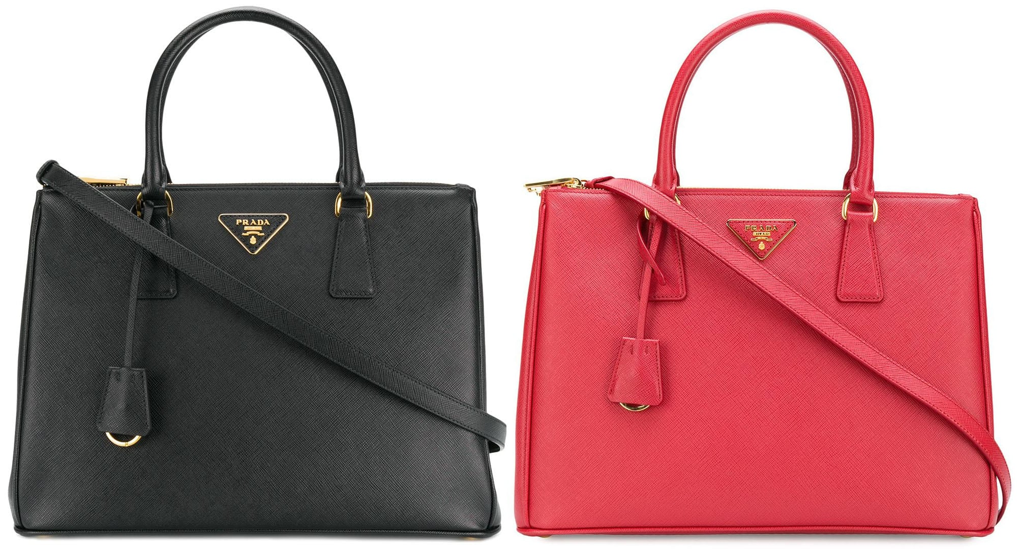 A cult-favorite Prada bag, the Galleria is a timeless bag that features a classic shape and the fashion house's neat branding