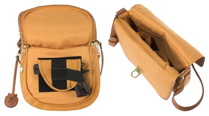 It has a hidden zipped flap that ensures easy access to the holster pocket