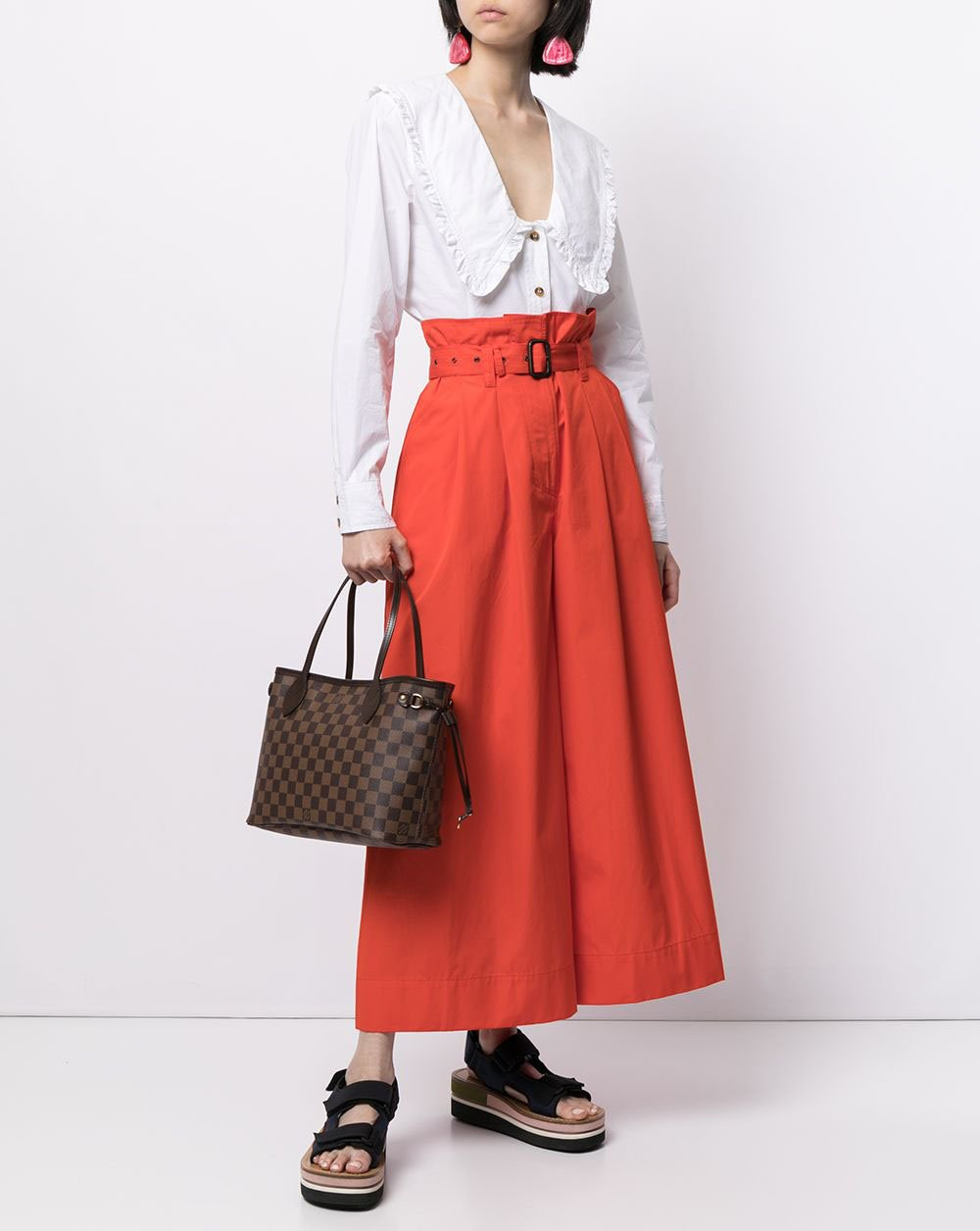 Roomy but not bulky, the Louis Vuitton Neverfull is a practical bag with a classic timeless design