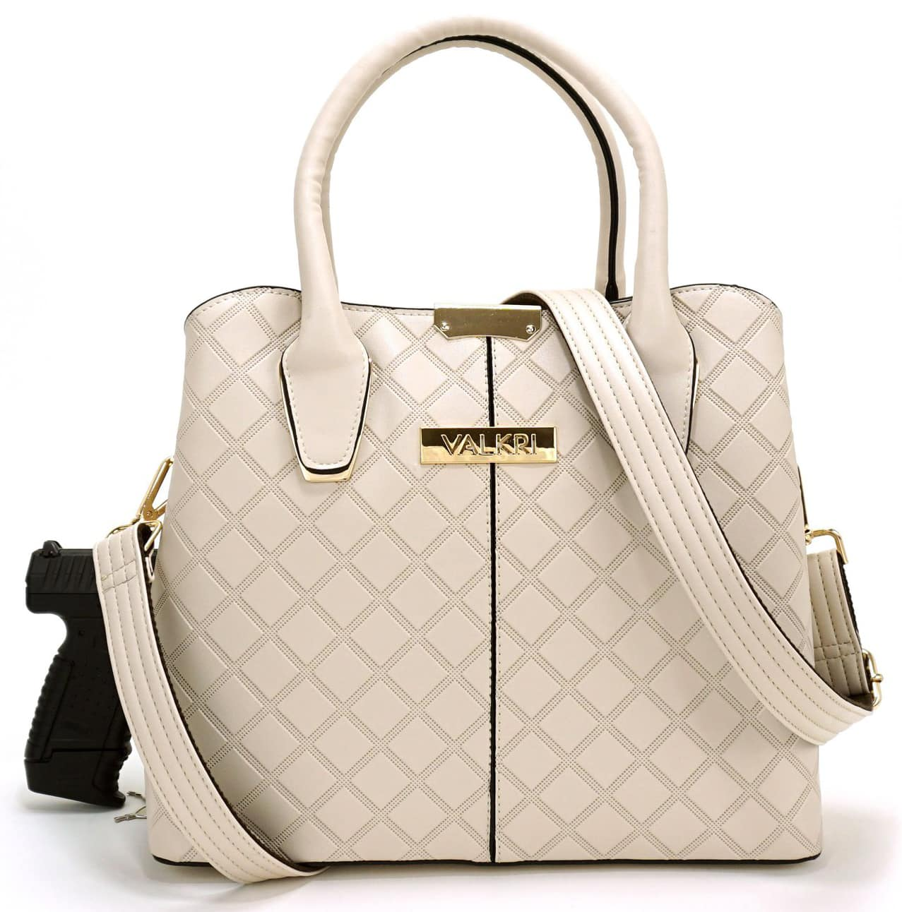 Stay safe without compromising style with Valkri's Juno concealed carry crossbody purse