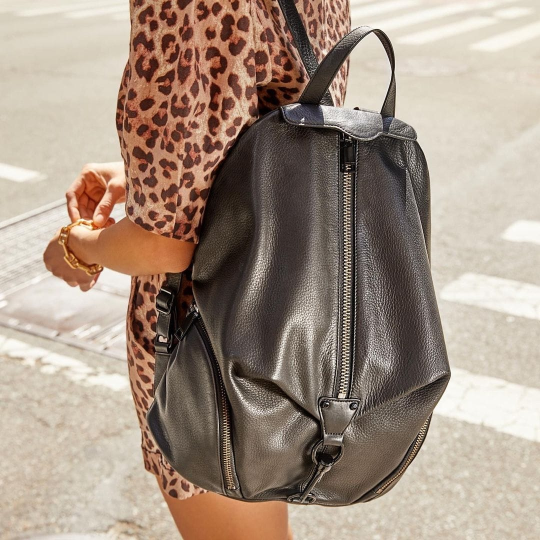 Rebecca Minkoff's campus-classic backpack features plenty of pockets for keeping essentials within reach