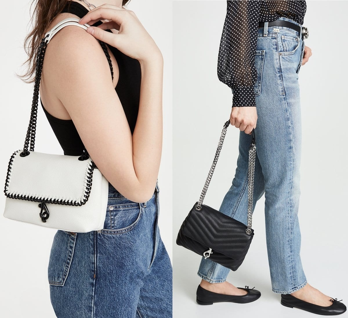 Rebecca Minkoff's understated Edie crossbody bag is the perfect way to accentuate everyday ensembles