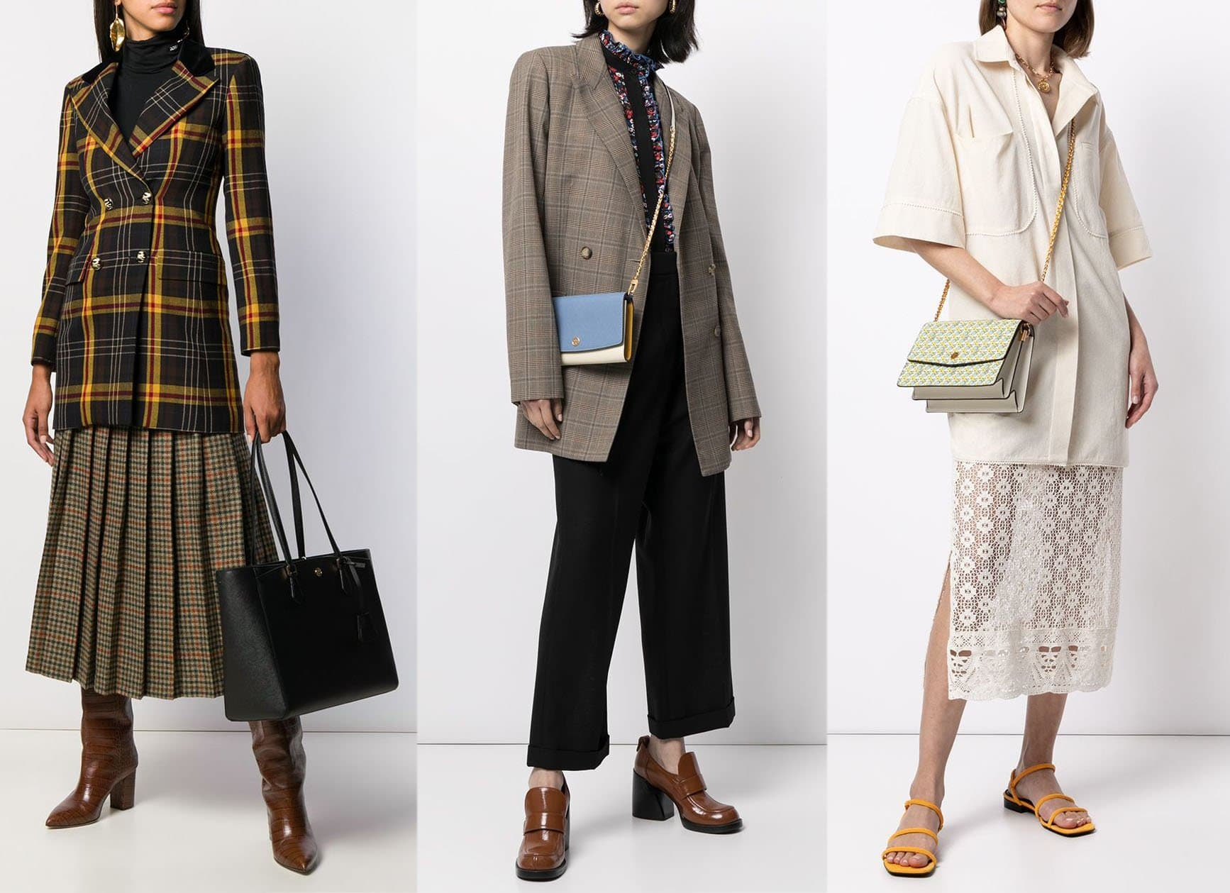 You can find the Robinson bag in different silhouettes, including tote and convertible shoulder bag silhouettes