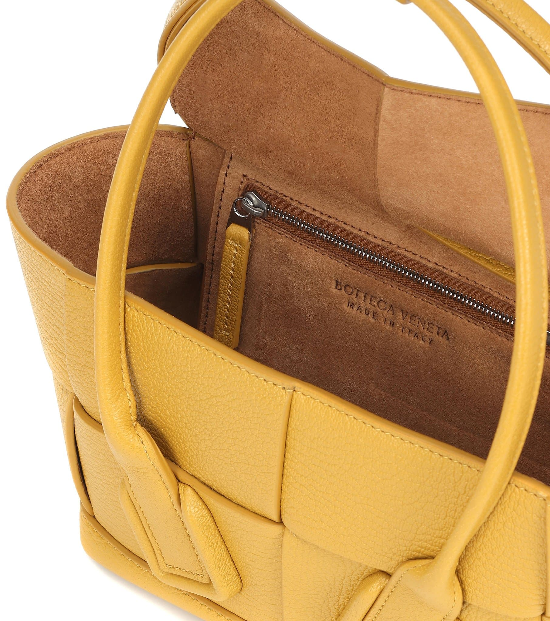 Bottega Veneta is known for its Italian heritage and still produces its bags and accessories in Italy