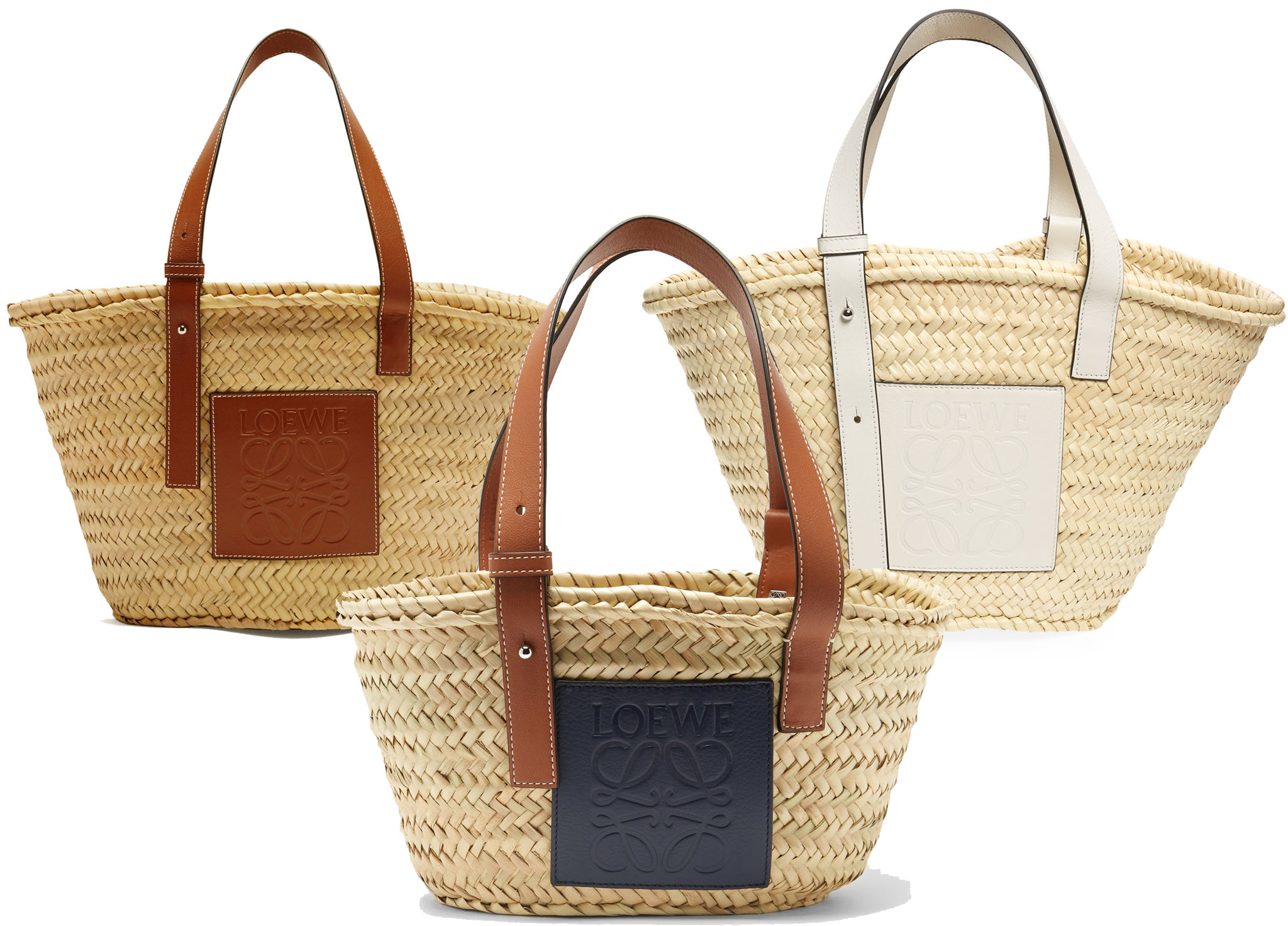Loewe is known not only for its fine leather goods but also for its basket woven bags