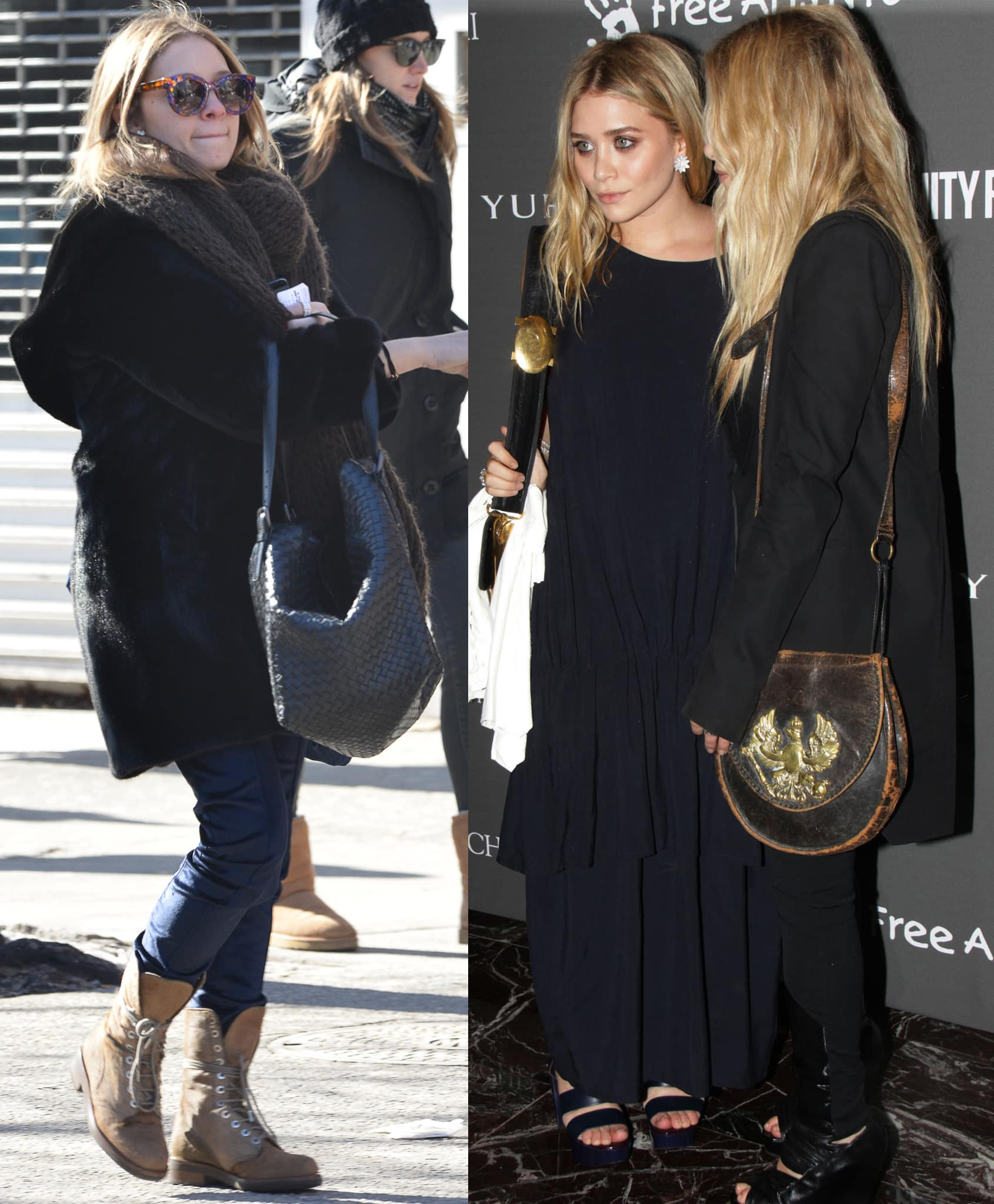 Mary-Kate and Ashley Olsen are among those who popularized hobo bags as part of the Boho-chic trend