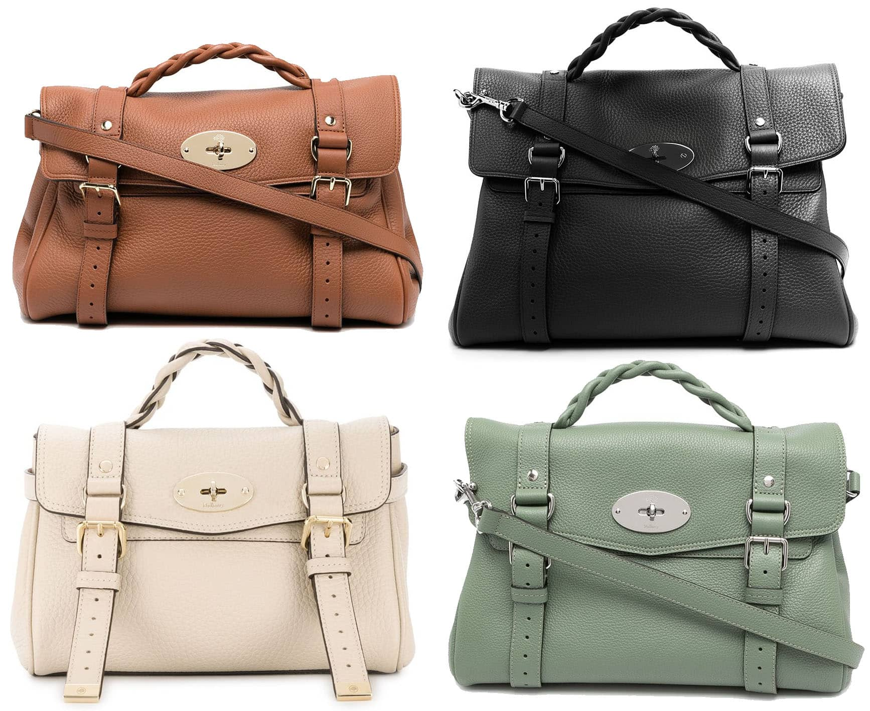 The Alexa is arguably Mulberry's most popular bag style