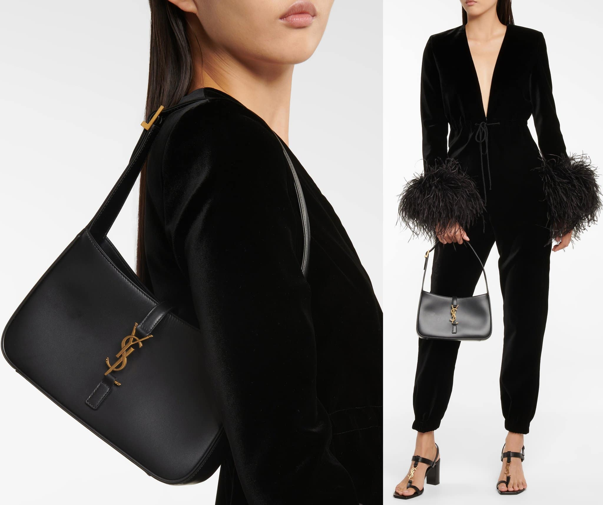 Saint Laurent offers the Le 5 à 7 bag for all your desk-to-dinner and other social activities