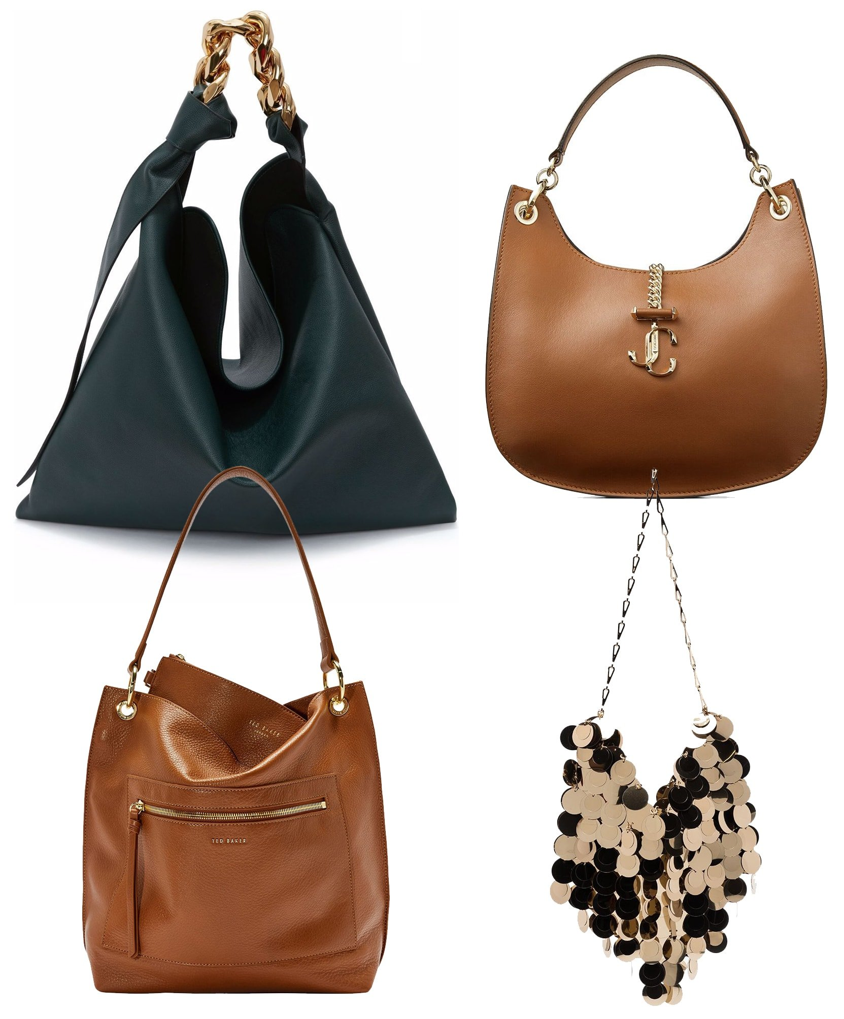 Hobo bags are still in style, with several brands putting their own twist on the classic hobo bag