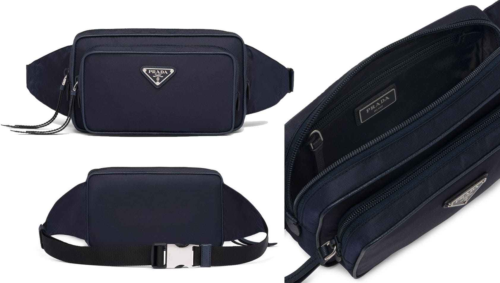 Belt bags is used to carry daily essentials and are usually worn around the waist using a belt-like strap with a triple-glide slide